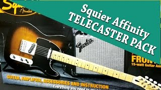Squier Affinity Telecaster pack