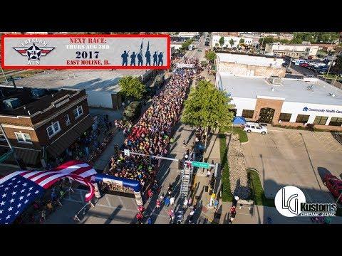 The Freedom Run 5K in East Moline, Illinois 8-3-2017