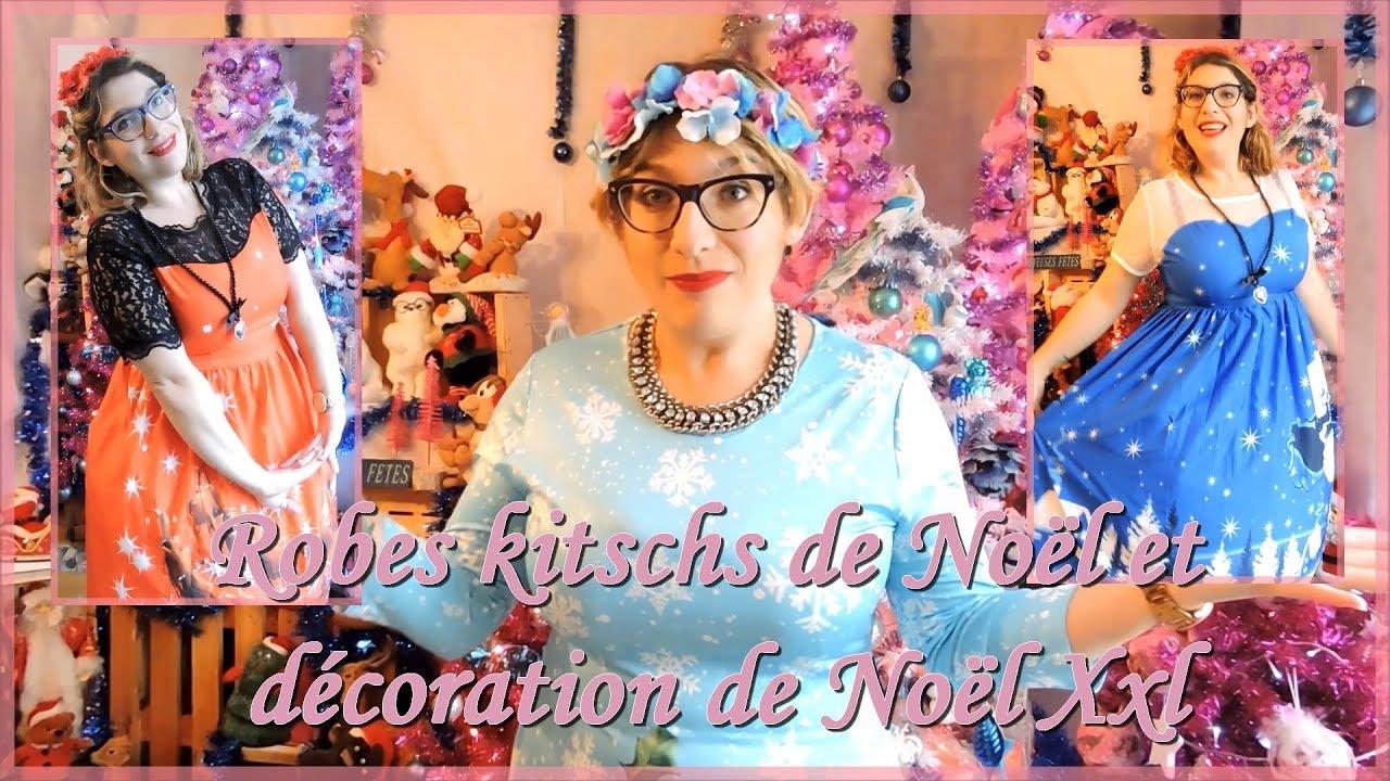 Robes Kitschs De Noël Et Décoration De Noël Xxl