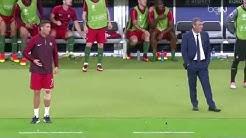 Cristiano Ronaldo  Attack Fernando Santos Funny