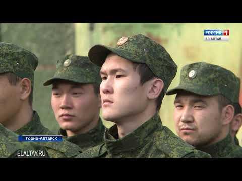 В Горно-Алтайске открыли общевойсковую полосу препятствий