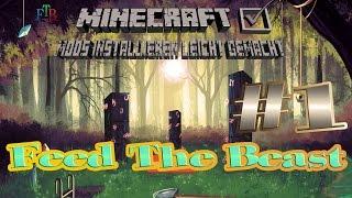 Feed The Beast (FTB) in Minecraft Mods installieren leicht gemacht #1 Tutorial