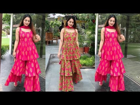 Top 20 Designer Sharara Gharara Designs    Sharara dress    Designer  Sharara Gharara Designs - YouTube