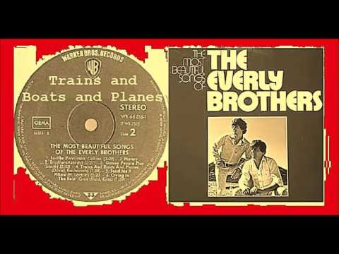 The Everly Brothers - Trains and Boats and Planes (Vinyl)