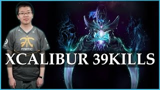 Xcalibur Phantom Assassin Arcana 39kills /w IO | DOTA 2 Gameplay