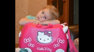 Чемодан Trunki Hello Kitty обзор покупателя