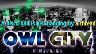 Owl City - Fireflies (karaoke / istrumental)