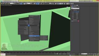 Окно в 3d max, как сделать простое окно в 3d max - 1/3
