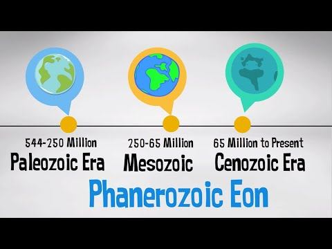 Phanerozoic Eon | Geologic Time Scale with events |