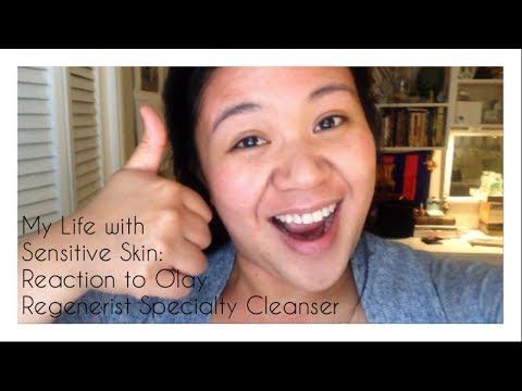 My Life with Sensitive Skin: Reaction to Olay Advanced Systems Brush Cleanser