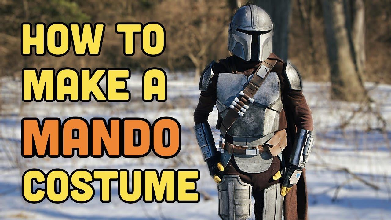 Make Your Own DIY Mandalorian Suit | Mando Cosplay ep 8