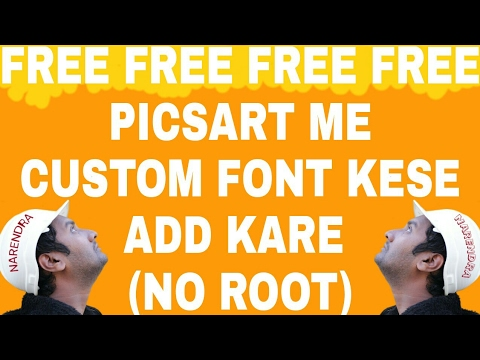 how to add a custom font