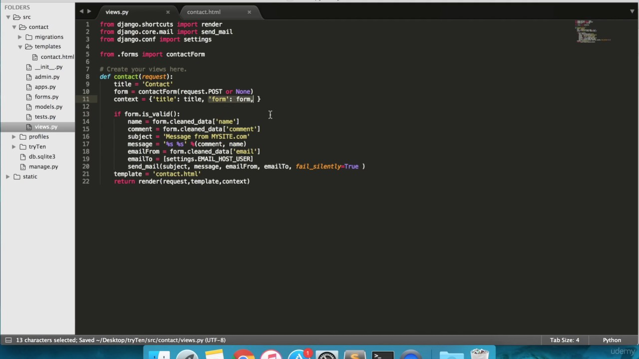 Learn Python and Django Build an eCommerce Website Step by Step 13 ...