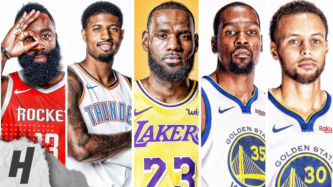 VERY BEST Highlights | 2019 All-Star West Starters | LeBron, Curry, Harden, Durant & Paul George
