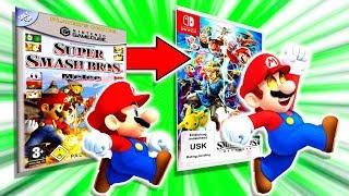 Meine Geschichte mit Super Smash Bros.