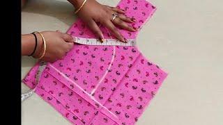 """36""""size katori blouse cutting and stitching"""