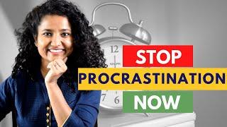 How to STOP Procrastinating!