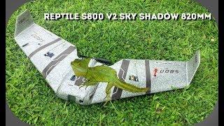 Reptile S800 V2 SKY SHADOW теперь еще лучше,обзор и сборка.