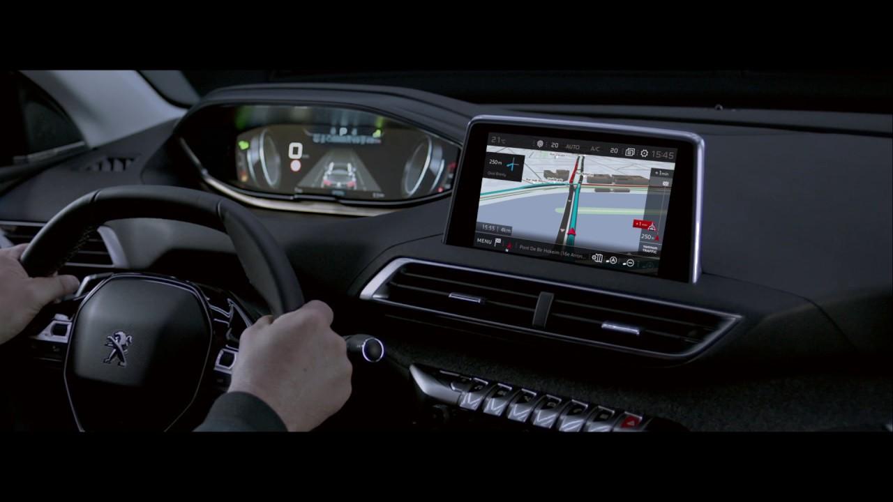 3d connected navigation new peugeot 3008 suv peugeot for 3d interieur ontwerpen gratis