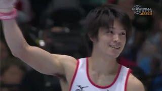 2013 All-Around Champ Kohei Uchimura - Universal Sports