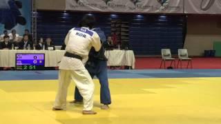 2013 asian taipei open judo men 60kg t p e vs k o r