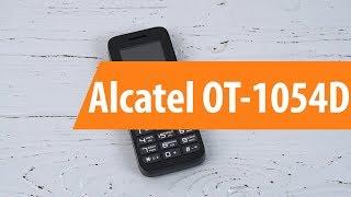 Розпакування Alcatel OT-1054D / Unboxing Alcatel OT-1054D