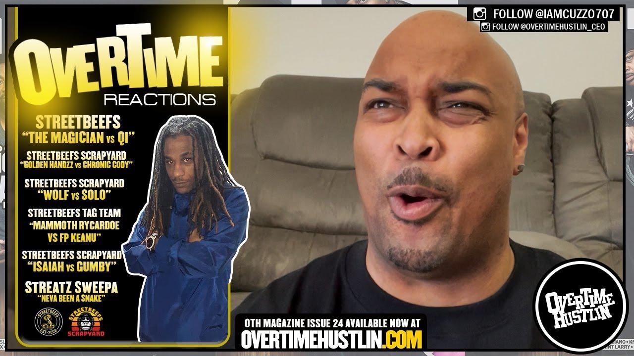 Overtime Reactions l Fight Night Episode l (StreetBeefs / StreetBeefs ScrapYard / Streatz Sweepa)