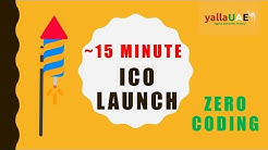 How to launch your own ICO in 15 minutes   No Coding   Beginner's Guide