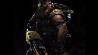 Evolve Big Alpha Hank Support gameplay