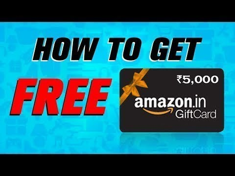 Amazon Gift Card: How to Amazon Gift Card Codes For Free   Free Amazon Gift Card 2020
