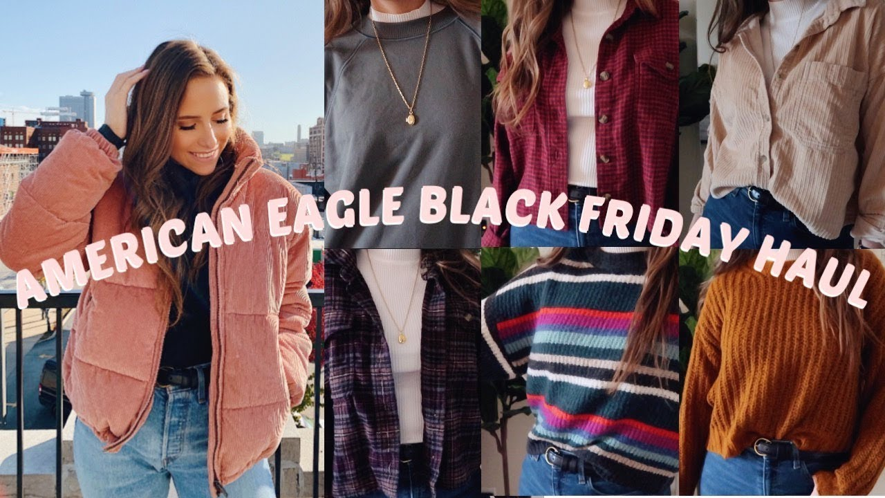 HUGE AMERICAN EAGLE BLACK FRIDAY TRY ON HAUL