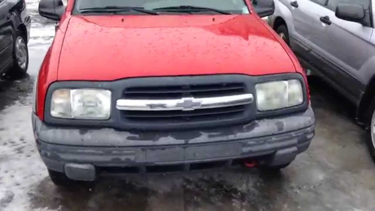 All Chevy 2002 chevrolet tracker parts : 2002 Chevy Tracker Quick Tour / Overview - YouTube
