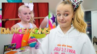 REACTING TO MYSELF ON DANCE MOMS... - JoJo Siwa