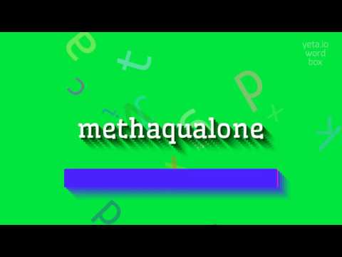 "How to say ""methaqualone""! (High Quality Voices)"