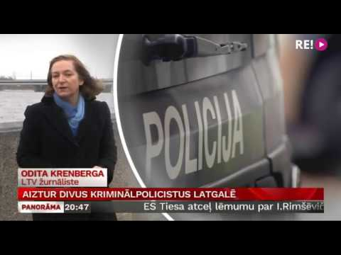 Aiztur divus kriminālpolicistus Latgalē