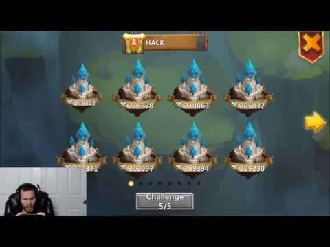 Guild Wars VS HACK Russia DarkKnights 2882 TOTAL SCORE! Castle Clash