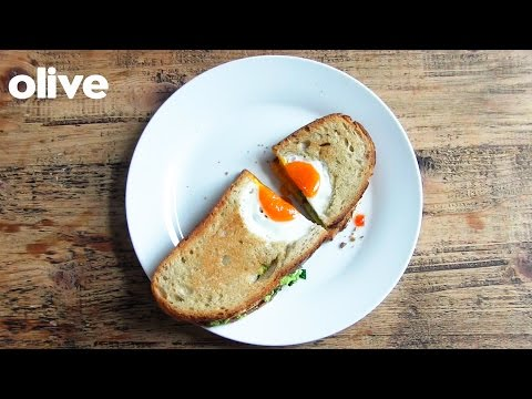 How to make: egg in the hole