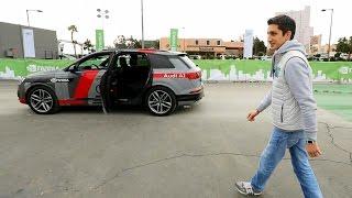 Тестируем настоящую беспилотную Audi Q7!(Тест-драйв и обзор беспилотного автомобиля Audi Q7 на выставке CES 2017. Машина сделана специалистами компаний..., 2017-01-09T16:01:10.000Z)