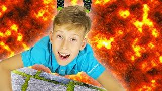 어린이 노래 - 바닥은 용암 | The Floor is Lava Kids Song