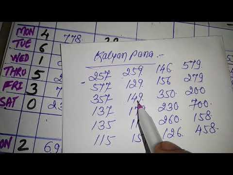 Kalyan pana game today social line 22/2/18