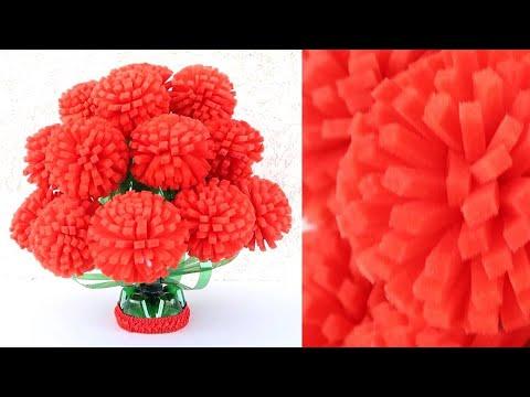 Plastic Bottle Flower Vase Craft - Home Decor Ideas - Plastic Bottle Craft 1809