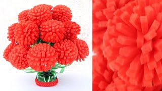 Plastic Bottle Flower Vase Craft - Home Decor Ideas - Plastic Bottle Craft 1809