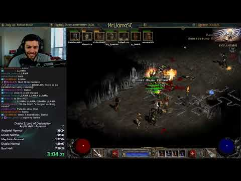 DIABLO 2 - LADDER RESET FIRST UBERS SPEEDRUN