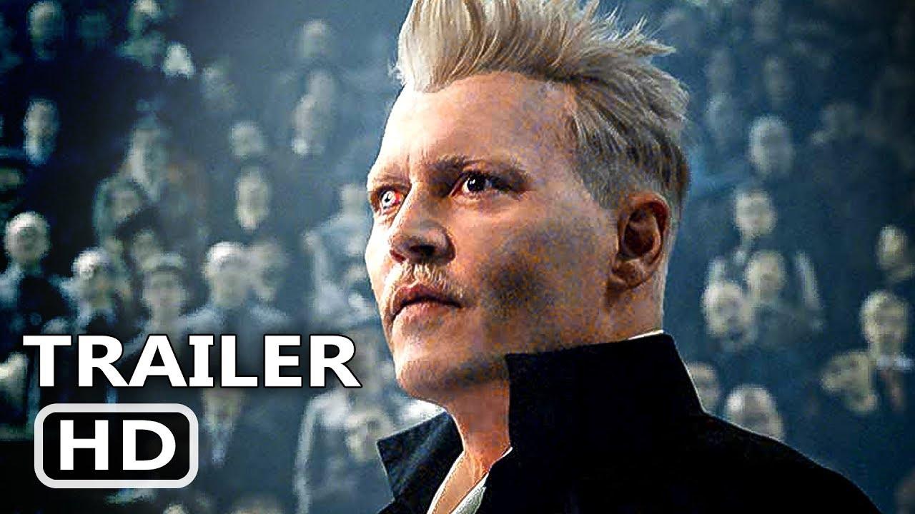 Fantastic Beasts 2 Trailer 2018 Harry Potter Johnny Depp Movie