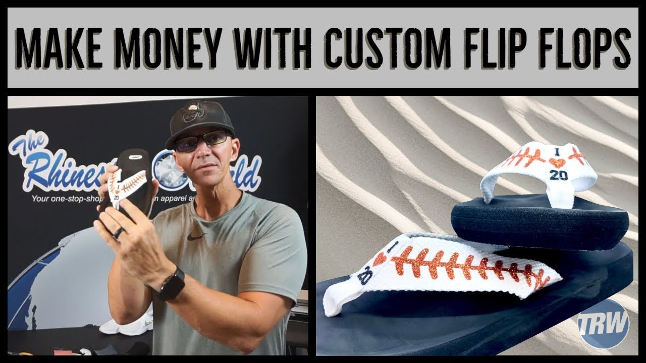 53f1b05aedb9 Make Money with Custom Flip Flops Tutorial (Know the Numbers) - YouTube