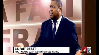 RDC: LAMBERT MENDE ÉCARTE L'HYPOTHÈSE KENGO! 2/3