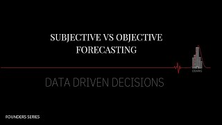 Predictive analytics in Real Estate: objective vs subjective deciding and data driven decisions