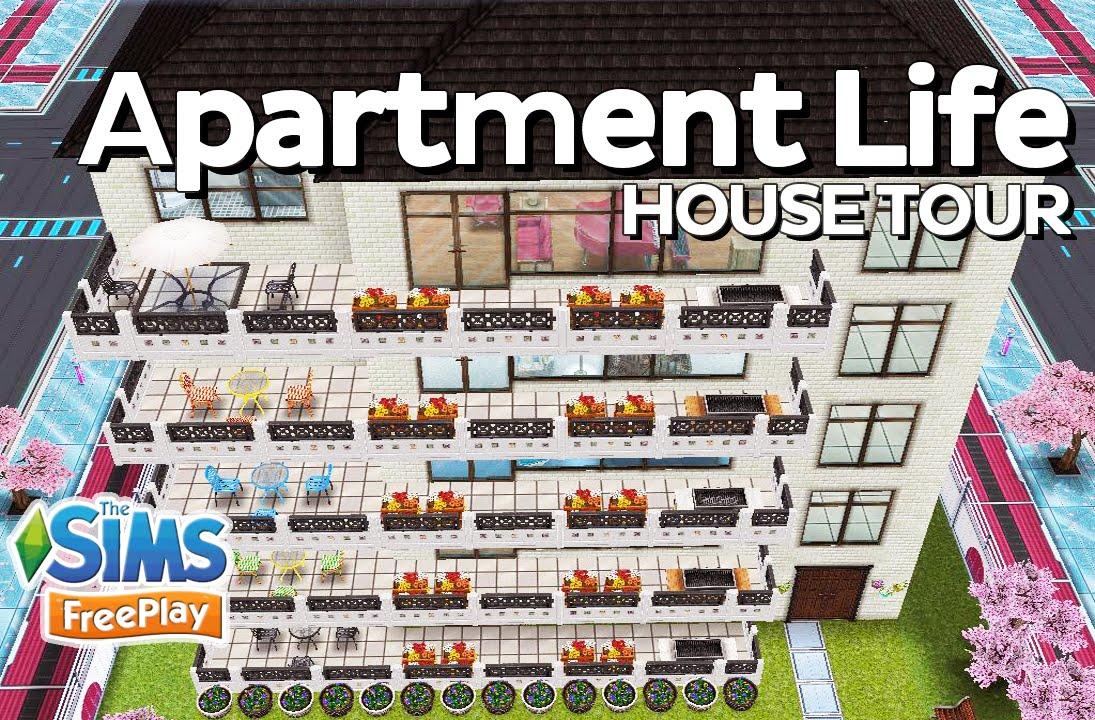 Superior The Sims Freeplay   Apartment Life (5 Story Building) (Original Design)    YouTube