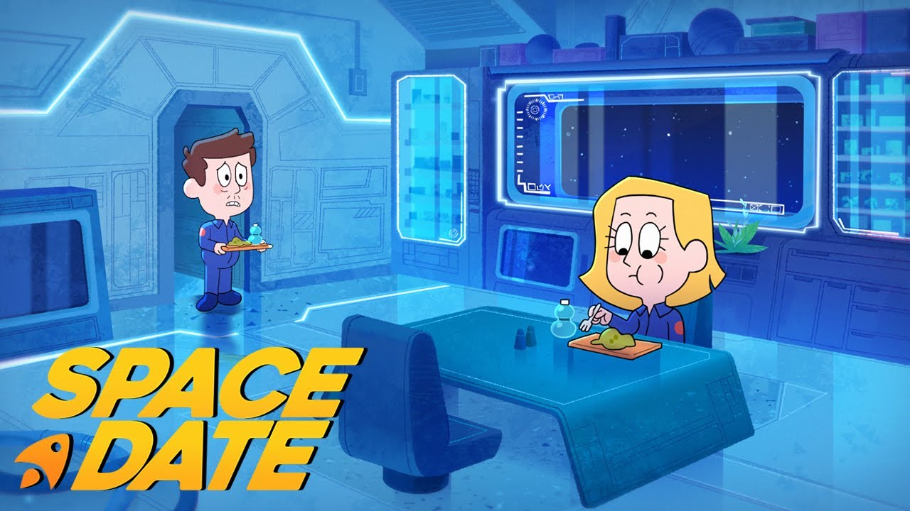 Space Date: A Lunch Date in Space | SHORT ANIMATED FILM