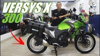 """VERSYS-X 300 A NINJINHA """"BIG TRAIL""""?! - MOTO.com.br"""